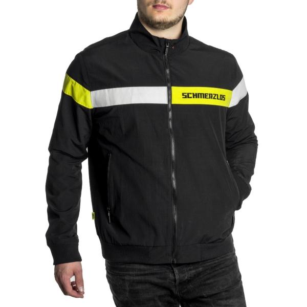 Schmerzlos Pattern Jacke Yellow - Black