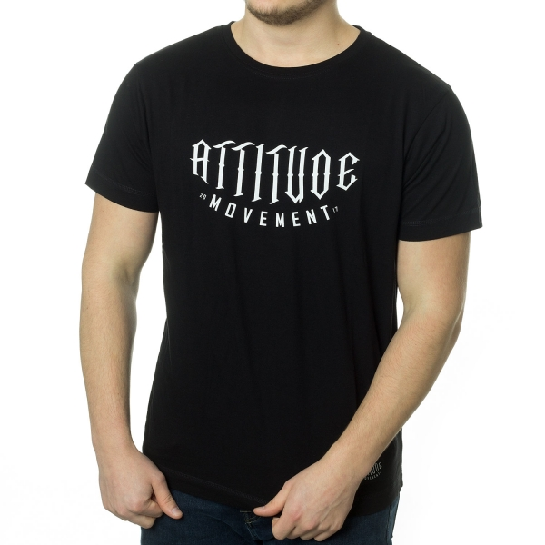 Attitude Movement Logo T-Shirt - Black