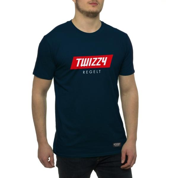 Twizzy Regelt T-Shirt - Navy Blue
