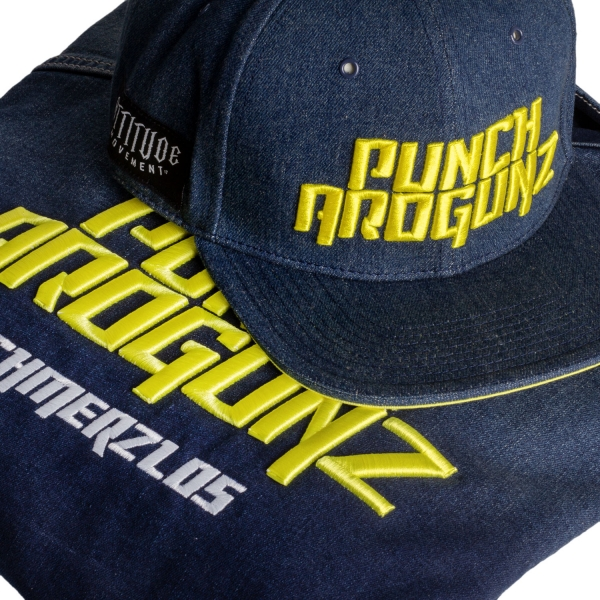 Punch Arogunz Blue Denim - Set