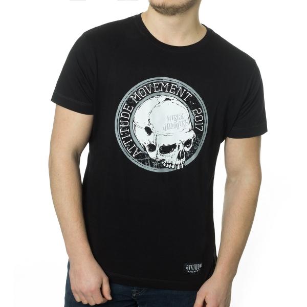 Punch Skull T-Shirt - Black